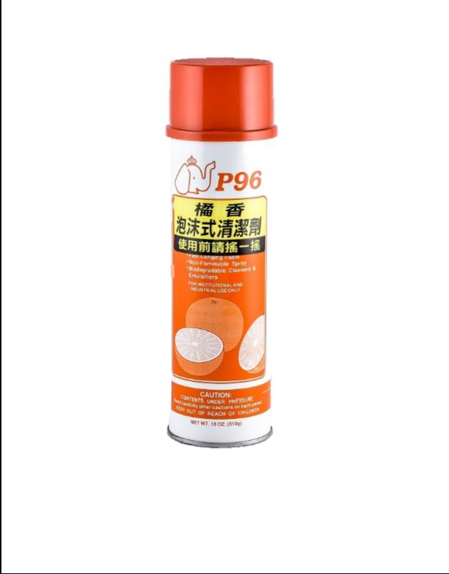 橘香泡沫式清潔劑 1